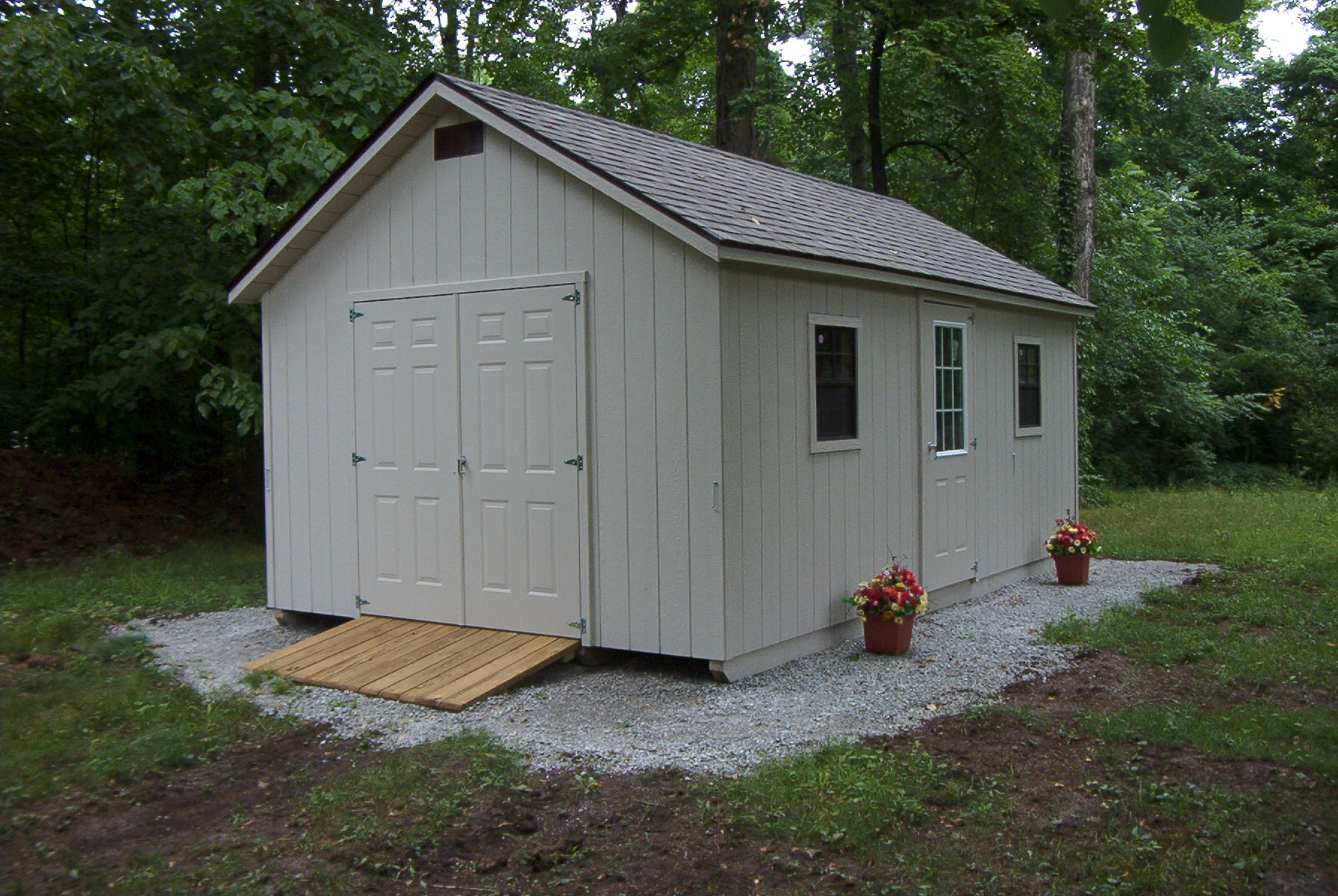 10 12 Garages : Lean to shed tell a roof pitch