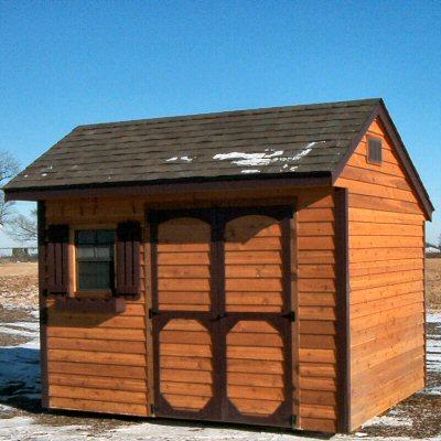 De shed plans 10 x 15 for Salt box sheds