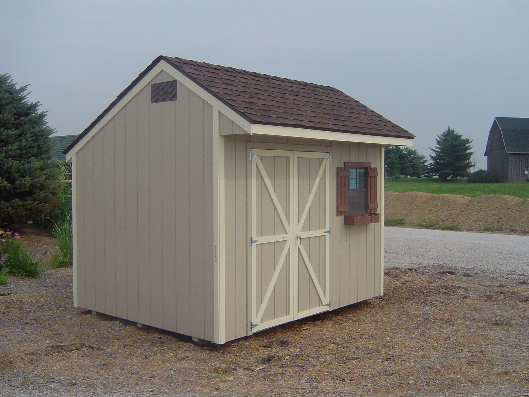 Modern goat shed modern house for Contemporary shed plans