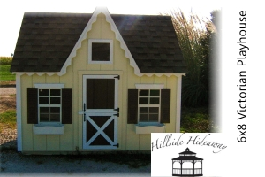 6x8 Victorian Playhouse