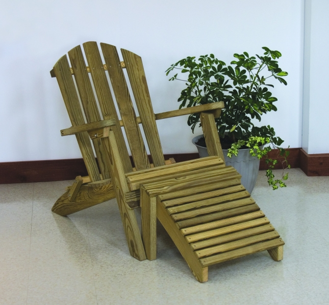 Diy Adirondack Chair Plans With Footrest Pdf Download